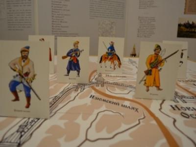 Создание детской интерактивной передвижной музейно-литературной выставки «Повелел державный город ставить славный…»