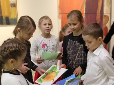 Онлайн-трансляция музейного занятия для младших школьников