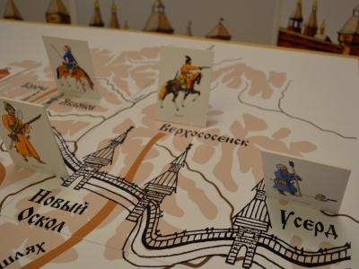 Онлайн-трансляция музейного занятия «Повелел державный город ставить славный…»