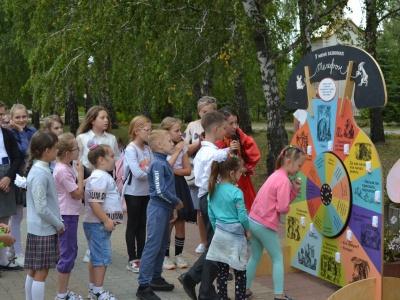 Выставка для детей «Про чижей, слона и веселую птицу синицу… Секреты стихотворных цепочек» в г. Строитель